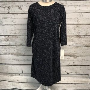 NWT Liz Lange Knit Maternity Dress Long Sleeve